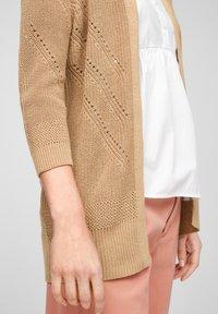 s.Oliver - Cardigan - beige - 4