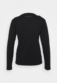 Emporio Armani - Long sleeved top - nero - 1