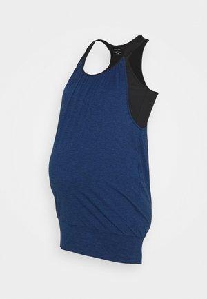 IMELDA - Topper - blue/black