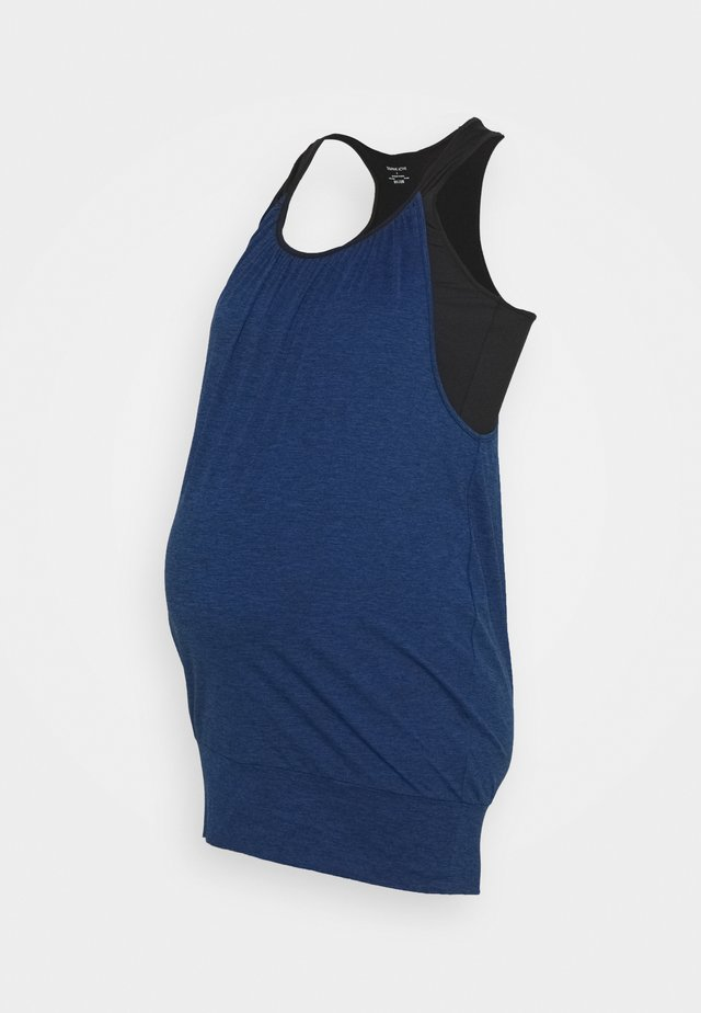 IMELDA - Top - blue/black