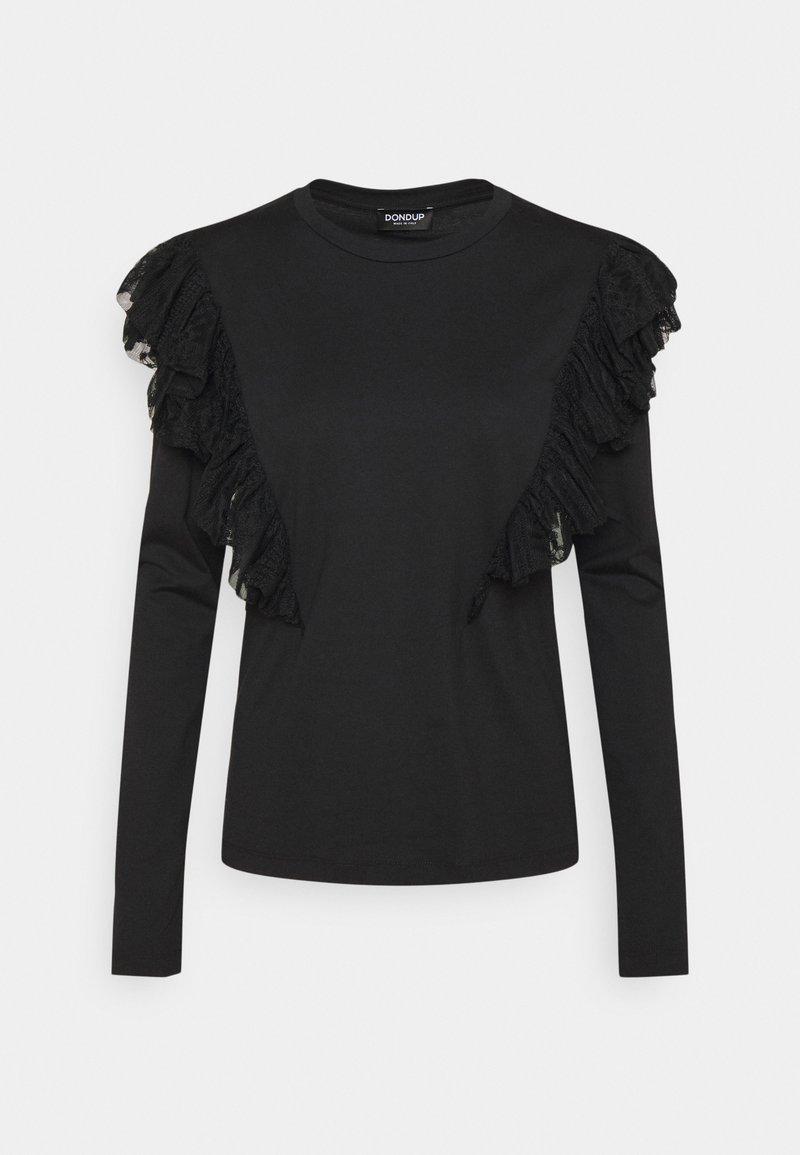 Dondup - Long sleeved top - black