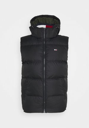 PADDED VEST UNISEX - Waistcoat - black