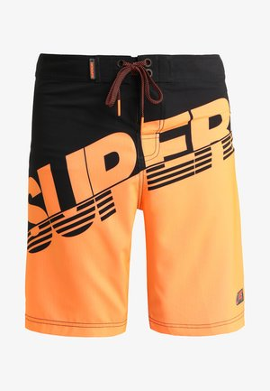 Swimming shorts - black/havana orange
