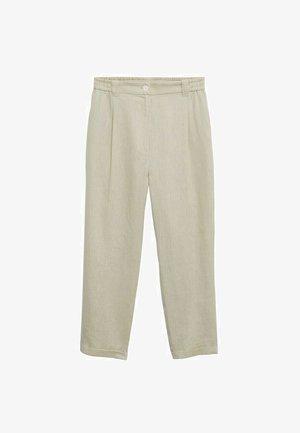 Pantalon classique - vert pastel