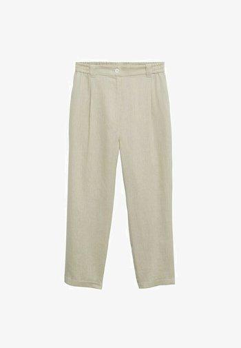 Trousers - vert pastel