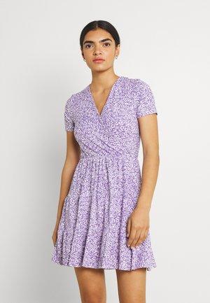 Vestito di maglina - purple