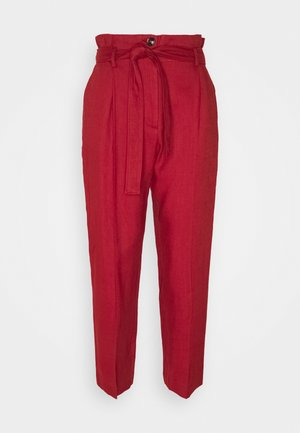 ONDULATO - Trousers - red