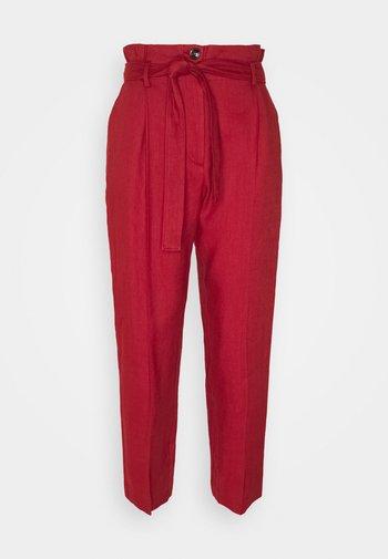 ONDULATO - Trousers - red