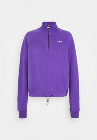 Fila Tall - MARCY HALF ZIP - Collegepaita - ultra violet - 4