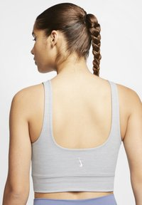 Nike Performance - THE YOGA LUXE CROP TANK - Top - particle grey/heather/platinum tint - 4