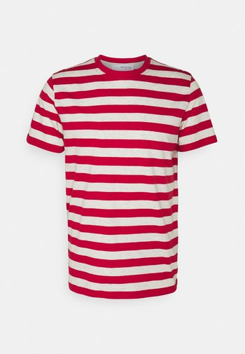 MAXWELL ONECK TEE - Camiseta estampada - samba/melange
