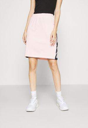 TARALA - Áčková sukně - sepia rose