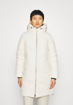 ELEVATED LONG LENGTH JACKET - Winter coat - white smoke
