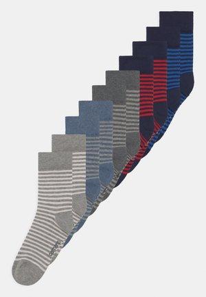 ONLINE CHILDREN 10 PACK UNISEX - Ponožky - light grey mix