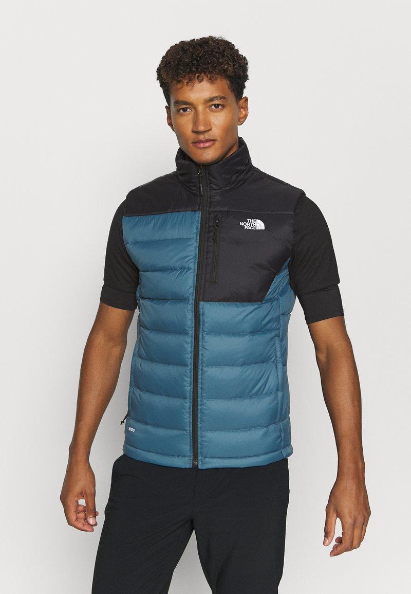 The North Face - ACONCAGUA VEST - Waistcoat - black mallard/blue
