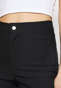Noisy May Tall - NMSOLINE SOLID PANTS  - Kalhoty - black - 4