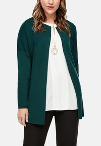 Triangle - Cardigan - emerald - 3