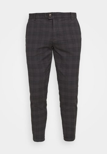 ERCAN CROPPED PANTS - Chinos - dover check