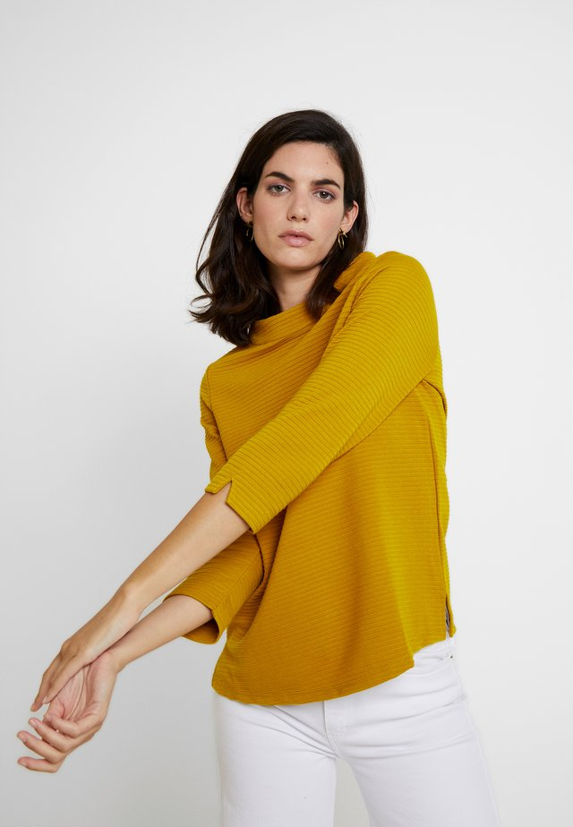 3/4 ARM - Long sleeved top - really mustard