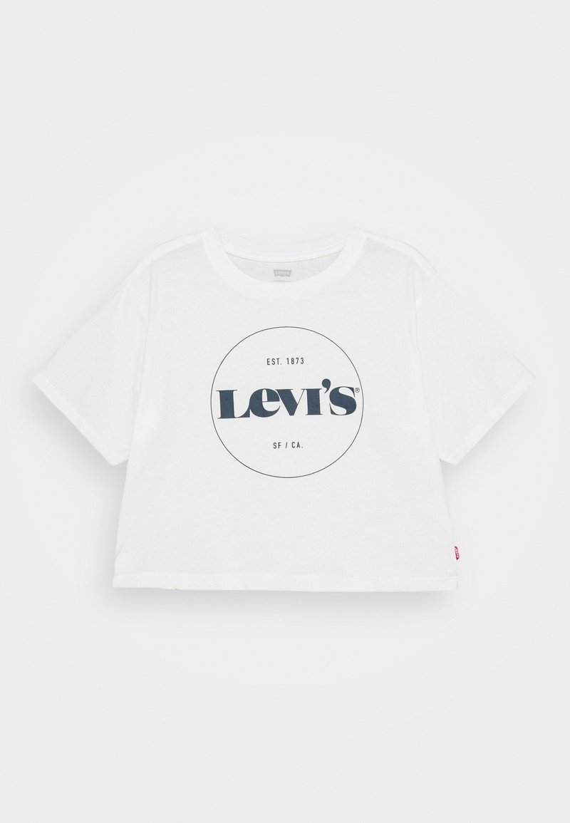 Levi's® - HIGH RISE - T-Shirt print - white