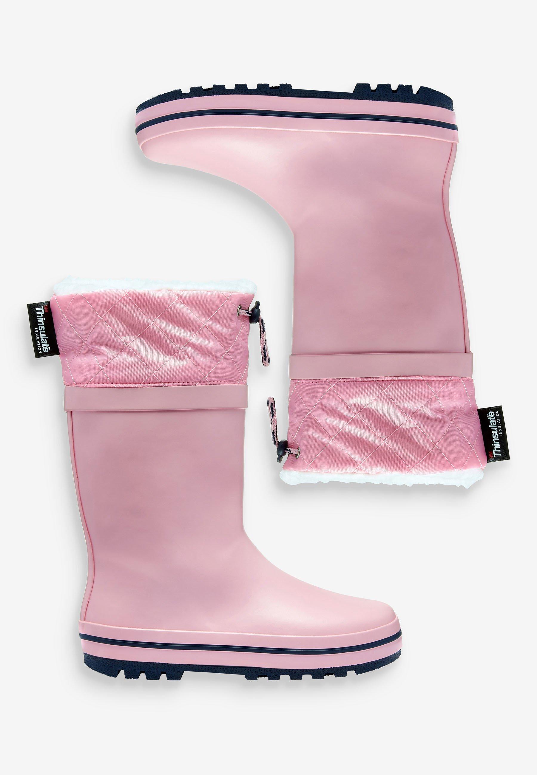 Next Regenlaarzen pinkdonkerroze Zalando.nl