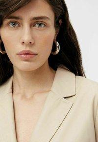 Object - Leather jacket - beige - 4