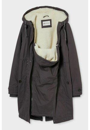 2in1 Coat - Winter coat - gray