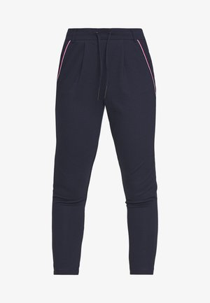 ONLPOPTRASH EASY NEW SPORTY TAPE PETIT - Trousers - night sky