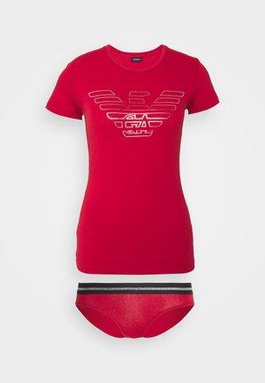SHORT - Pyjama set - rosa scuro