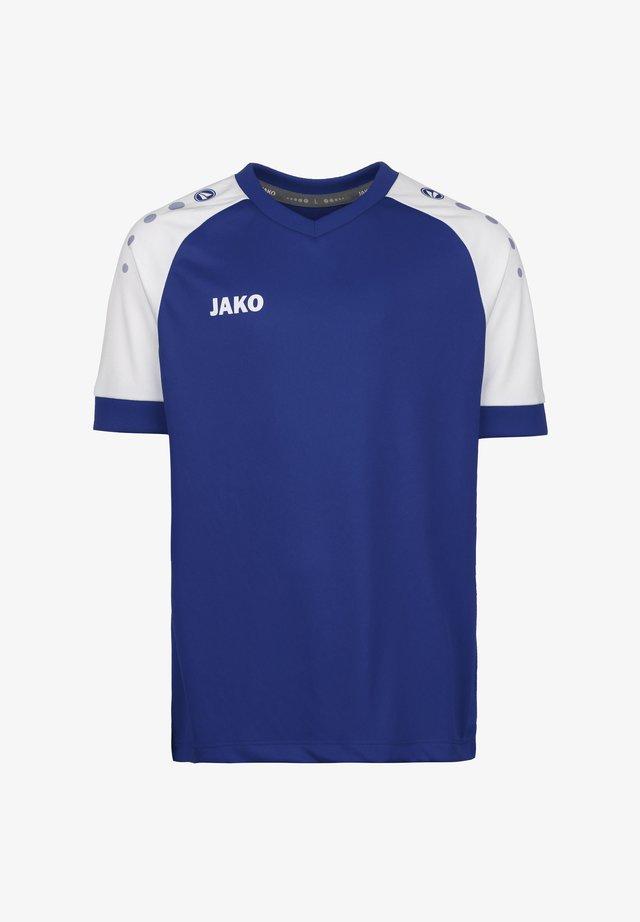 CHAMP  - Print T-shirt - sportroyal / weiss