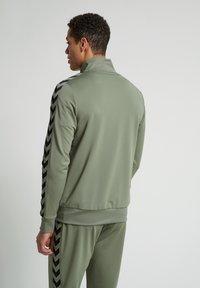 Hummel - Zip-up hoodie - vetiver - 2