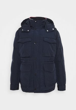 ROPE DYE AIRFIELD - Winter coat - blue