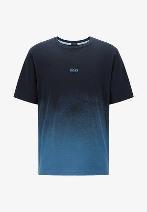 Print T-shirt - dark blue