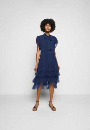 DIVINE SUMMER DRESS - Cocktail dress / Party dress - navy blue