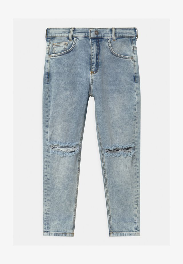 BOYS KNEE CUT  - Jeans baggy - blue light