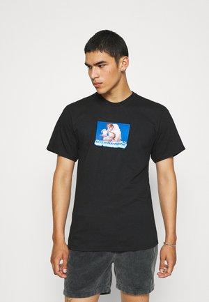 RYU TEE - T-shirt imprimé - black