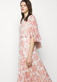 Lauren Ralph Lauren - PRINTED CRINKLE LONG - Occasion wear - colonial cream/pink - 4