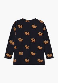 TINYCOTTONS - FOXES TEE UNISEX - Long sleeved top - navy/camel - 1