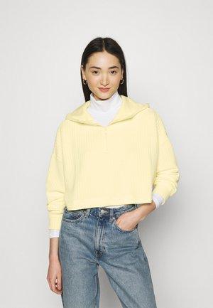 Sweatshirt - yellow light