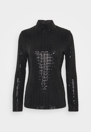 PARIS GLAM  - Bluzka z długim rękawem - black