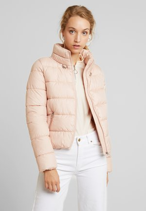 ONLCAMMIE QUILTED JACKET - Light jacket - cameo rose