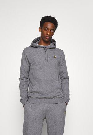 HOODIE - Sweatshirt - mid grey marl