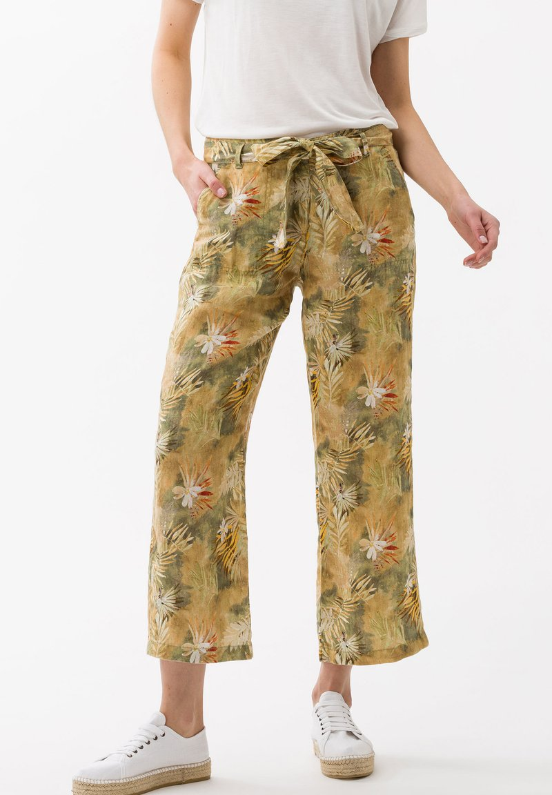 BRAX - STYLE MAINE  - Trousers - toffee