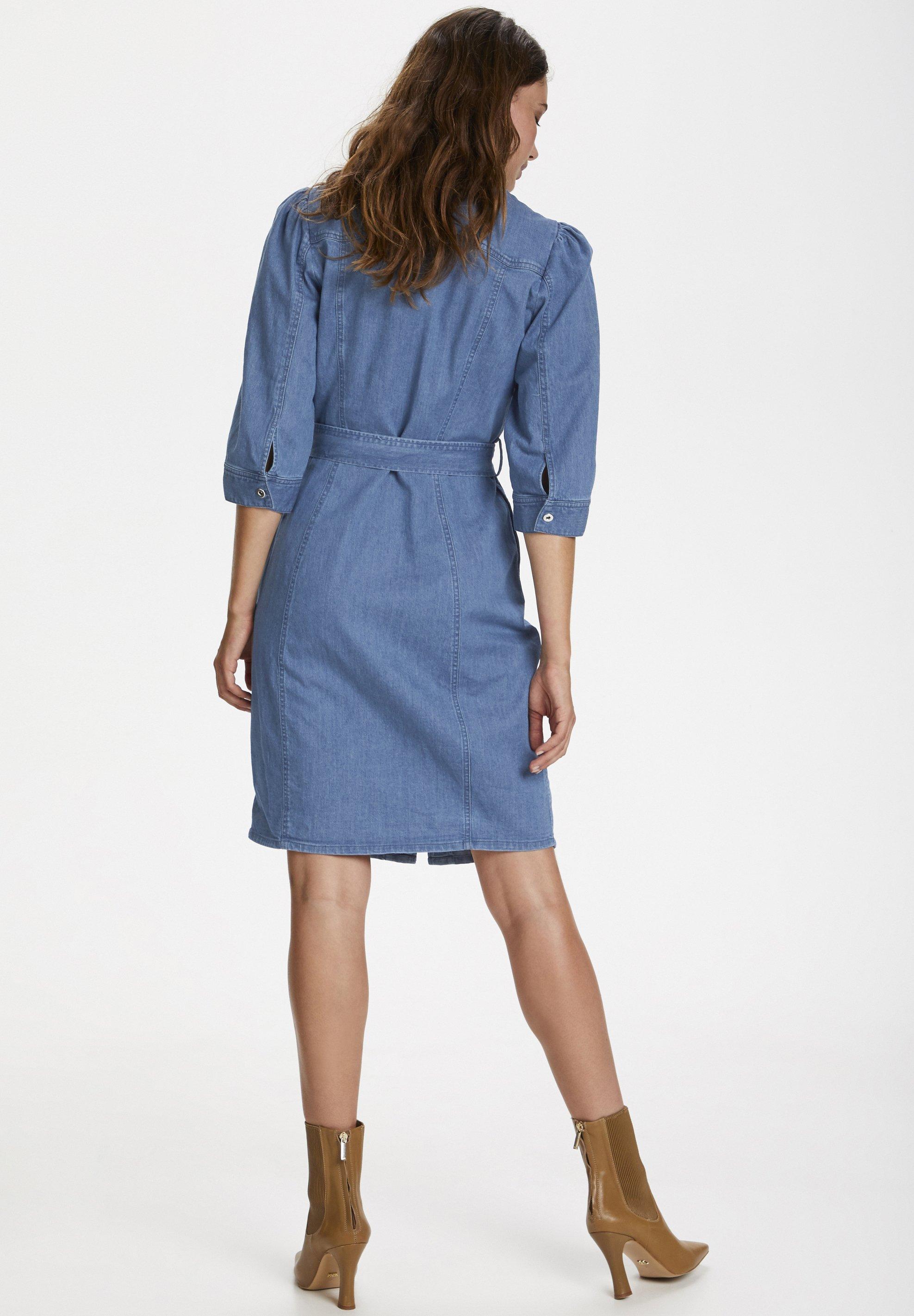 Best Authentic Fashion Style Women's Clothing Soaked in Luxury SLTINATIN Denim dress classic blue denim uZuK9i0HT m0yLGCOrA