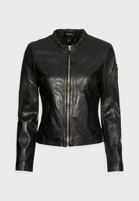 Gipsy - ZAI LASTAV - Leather jacket - black - 4