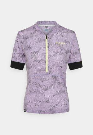 CADENCE HALF ZIP - T-Shirt print - lilac micro