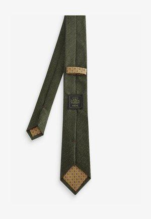 Tie - khaki
