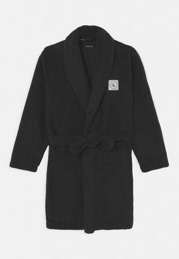 BATHROBE UNISEX - Dressing gown - black