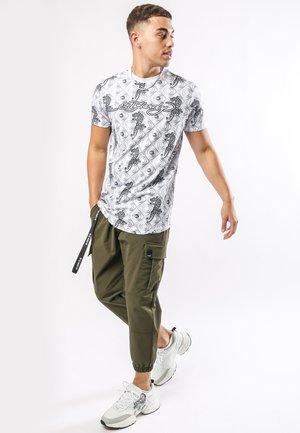 BAROQUE-TIGER T-SHIRT - Print T-shirt - white