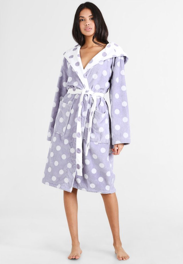 Dressing gown - purple